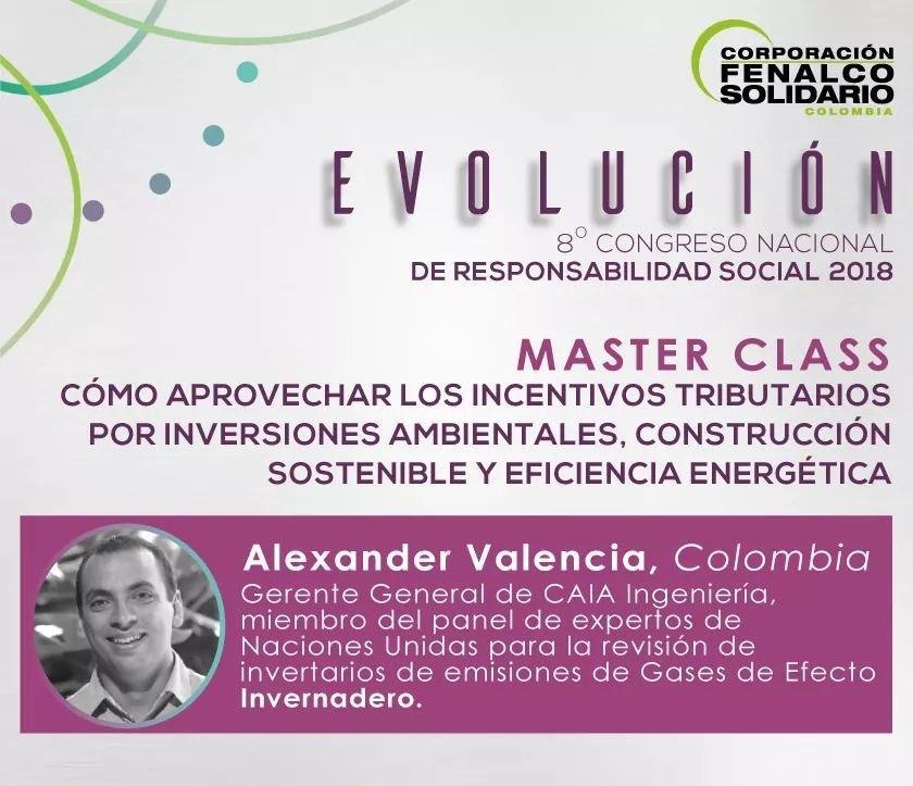 Master class 8vo congreso de responsabilidad social