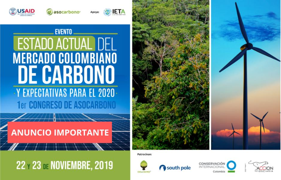 Estado Actual del mercado colombiano de Carbono y expectativas para el 2020