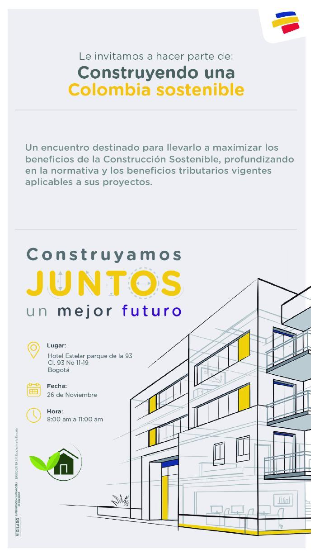 Participamos en el Taller «Construyendo una Colombia Sostenible»